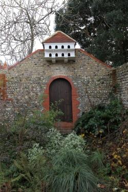 Rottindgean Kiplingův dům -  holubí dům v jedné z části zahrad