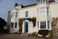 Rottingdean Kiplingův dům - čelní pohled na The Elms